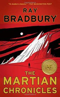 Book cover for Ray Bradbury's The Martian Chronicles