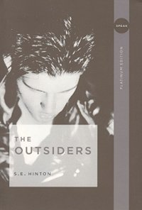 The Outsiders by S.E. Hinton book cover