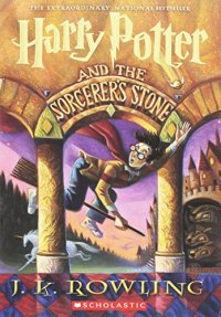 Harry Potter and the Sorcerer's Stone by J.K. Rowling book cover