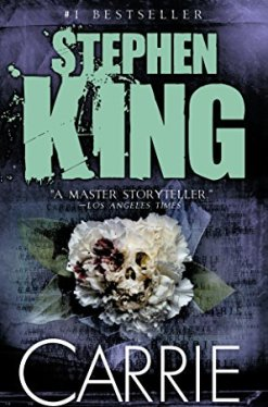 Carrie by Stephen King book cover