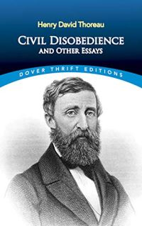 Civil Disobedience and Other Essays by Henry David Thoreau book cover