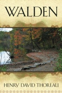 Walden by Henry David Thoreau book cover