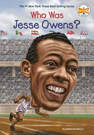 Olympic athlete Jesse Owens Who Was Jesse Owens book cover