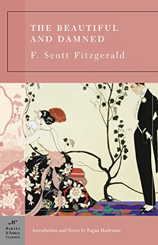 The Beautiful and Damned by F. Scott Fitzgerald book cover