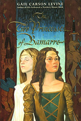 The Two Princesses of Bamarre by Gail Carson Levine book cover