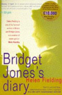 Bridget Jones's diary book cover - books from the 1990s