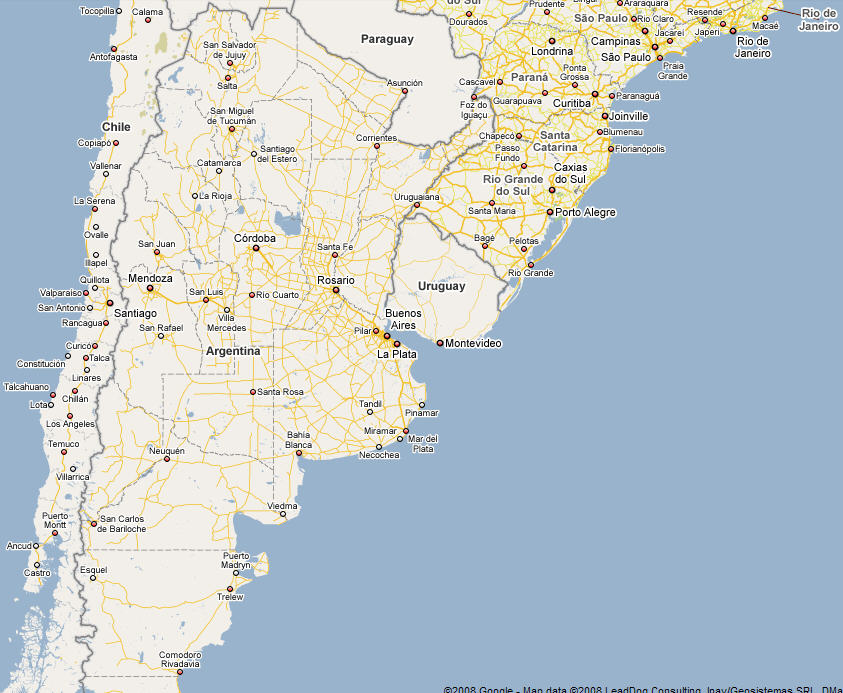 Expat Tech Google Maps Argentina Phase I Discover Buenos Aires - Map of argentina