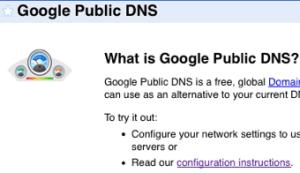 Google Public DNS Rocks