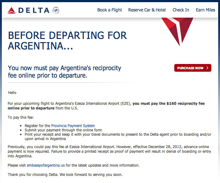 Moffatt argentina reciprocity fee form products