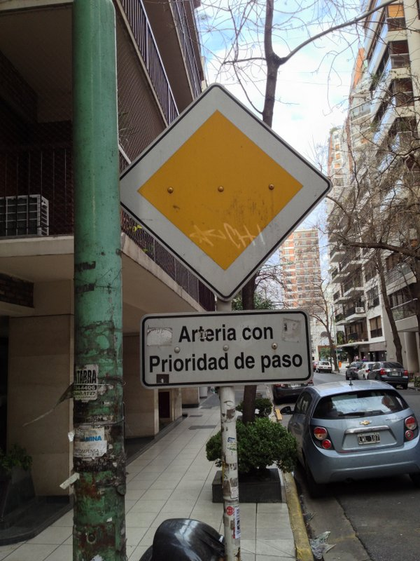 Most Ignored Sign in Argentina