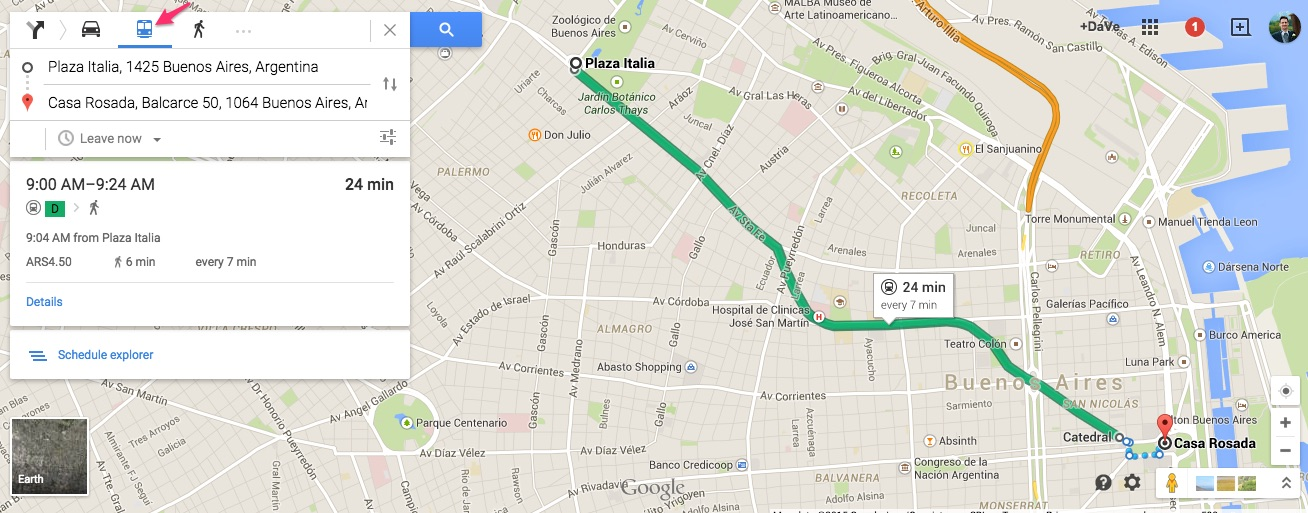 Google Maps Launches Subway Directions For Buenos Aires Discover - Argentina subway map