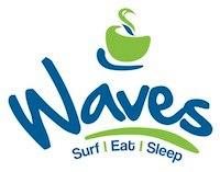 waves cafe ..