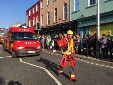 Damian McNamara of Bundoran Fire Service