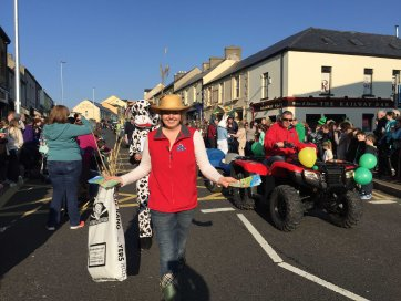Edel Carty of Castle Adventure Open Farm In Ballyshannon