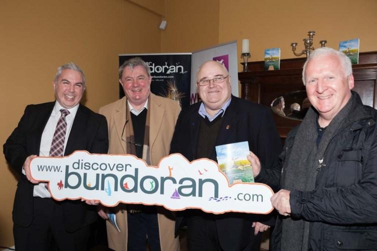 Shane Smyth, Paddy Conlan, Barney McLaughlin and Anderson Keys