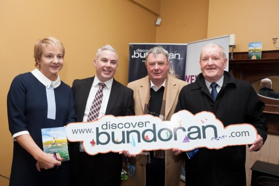 Gaye McGoldrick, Shane Smyth, Paddy Conlan and Tony McLoughlin TD