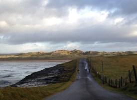The Roguey Walk in Bundoran overlooking Tullan Strand - pic Clare Best