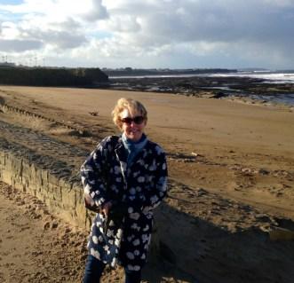 Enjoying the bracing Bundoran beach! Pic Clare Best