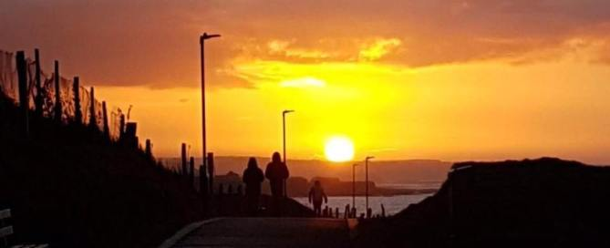Roguey Walk which is part of the Bundoran Darkness Into Light route - photo Daniel Farrelly