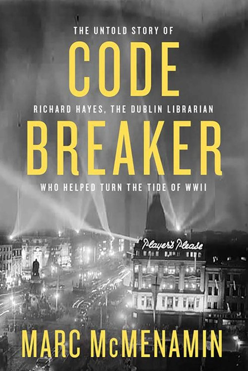 Code Breaker by Marc McMenamin will be launched officially at the Allingham Festival