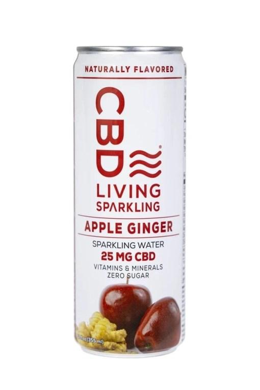Apple Ginger CBD Sparkling Water