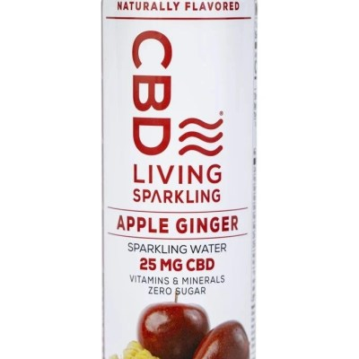 Apple Ginger CBD Sparkling Water