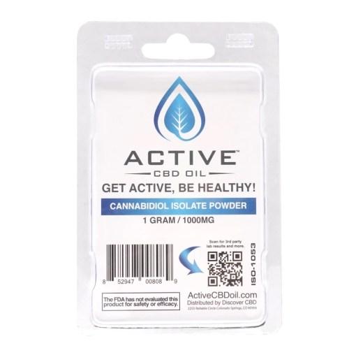 Active CBD Isolate Powder