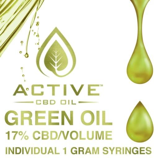 Active CBD Oil - Green