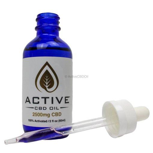 Active CBD/MCT Tincture 2500mg