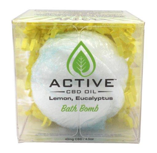 Active Bath Bomb Lemon & Eucalyptus 40mg