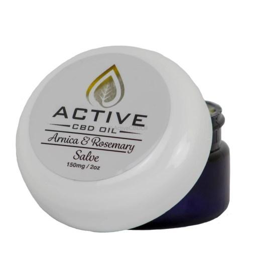 Active CBD Oil Salve 150mg