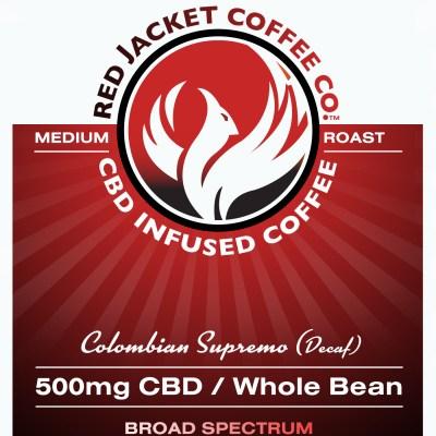 Colombian Supremo CBD Coffee - Decaf
