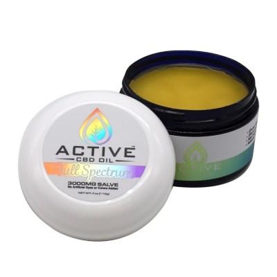Active CBD Oil Salve 3000mg