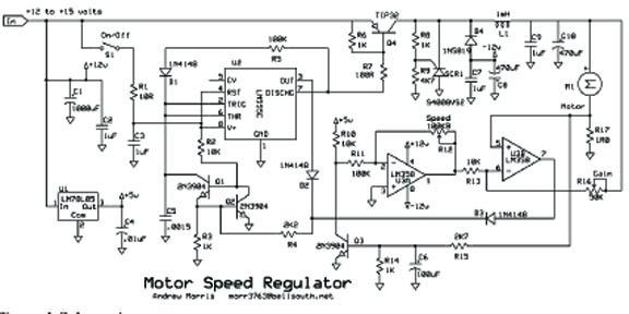 Motor Speed Regulator by Andrew R. Morris