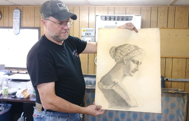 Trunk found in Clarion County contains artwork of Oil City woman
