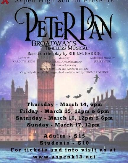 AHS/AMS Peter Pan this Weekend!