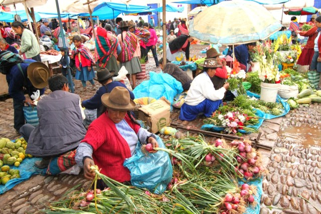 Sacred Valley of the Incas- Pisac Market