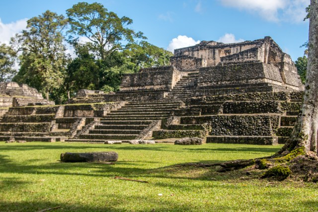 Mayan History- Caracol in Belize