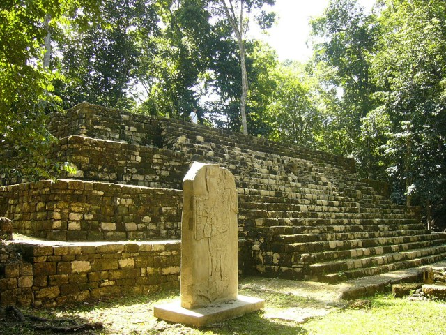 Mayan History- Aguateca Plaza