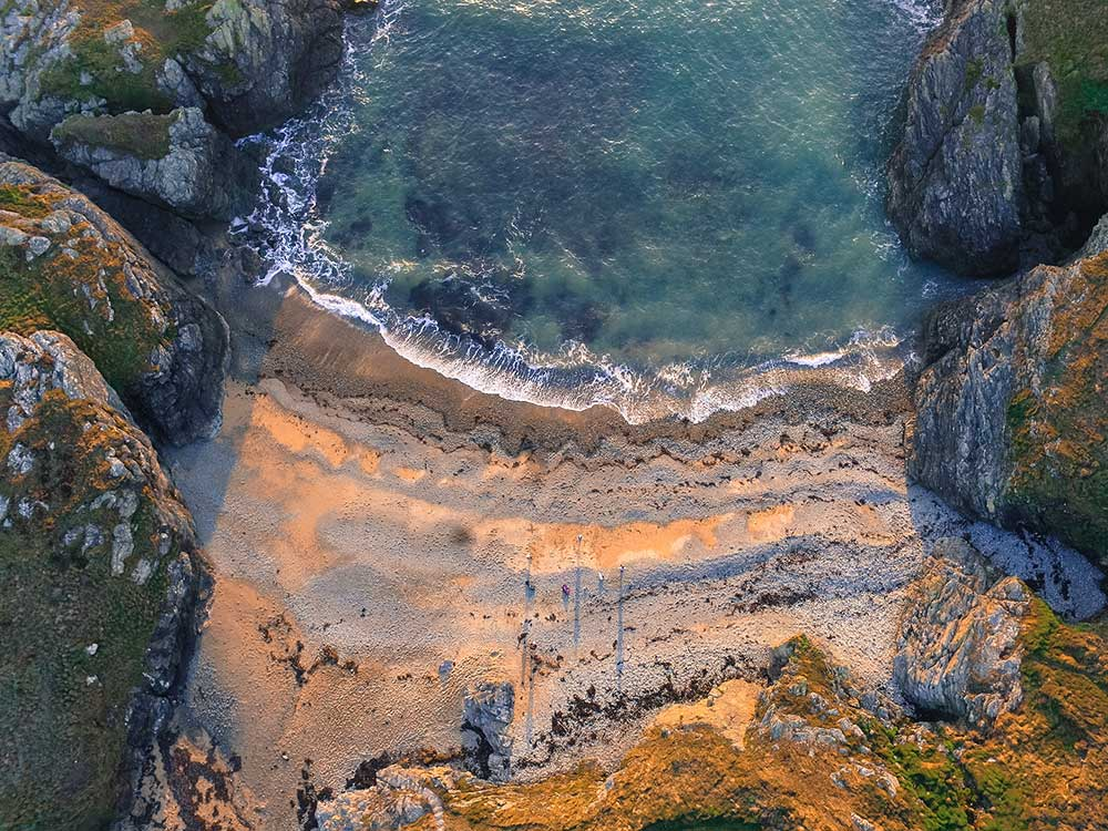 Porth y Corwgl, Anglesey