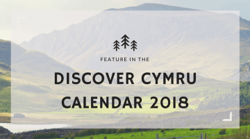 Feature in the Discover Cymru Calendar 2018