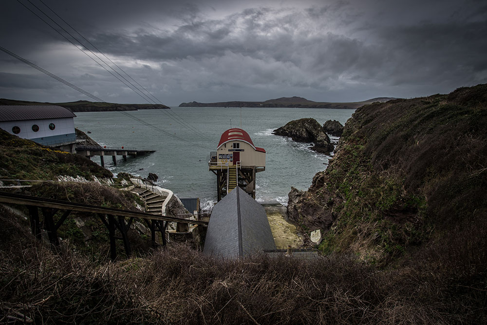 St Justinian's life boat station - Nathanael Jones