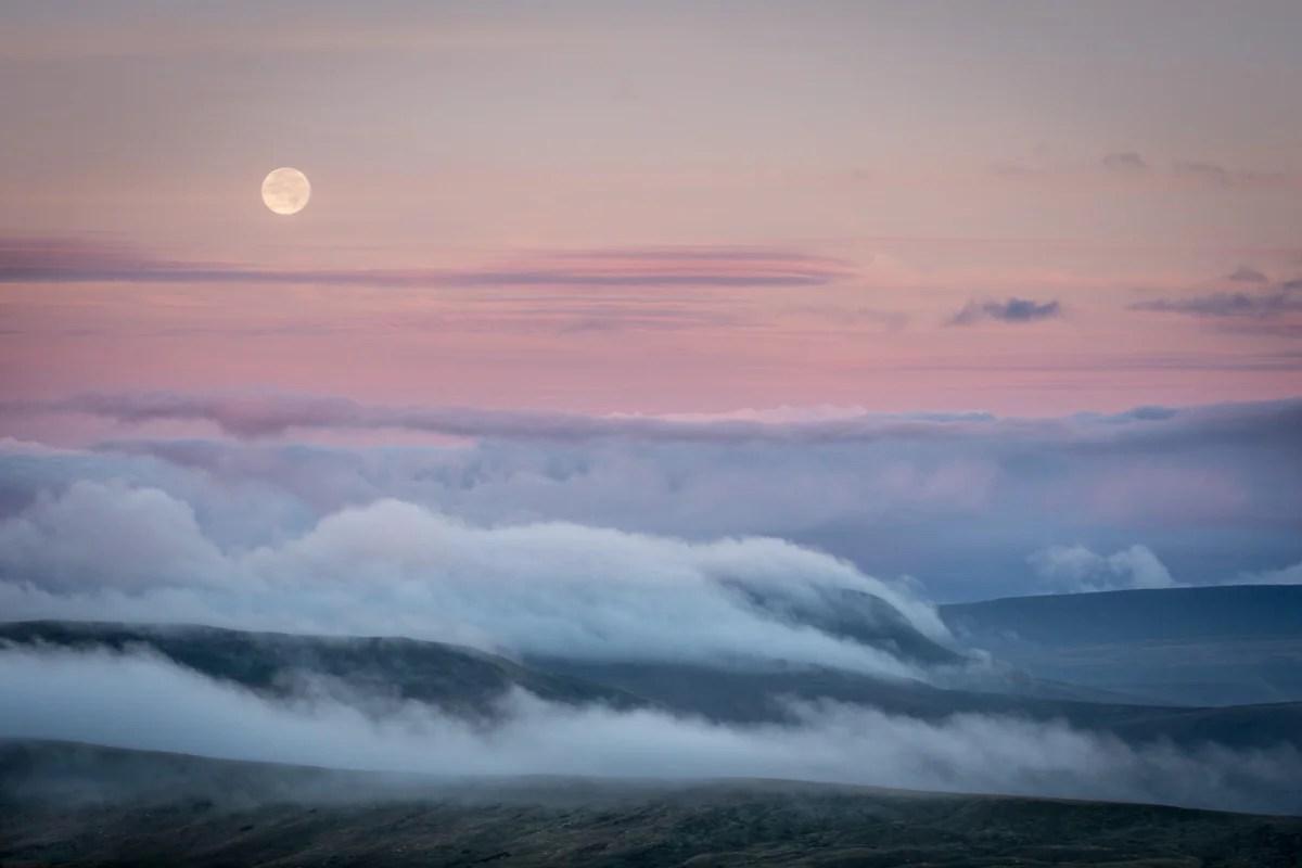 Cloud Inversion, Camarthen Fans