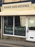 Knave and Kestrel books on door 30-01-18
