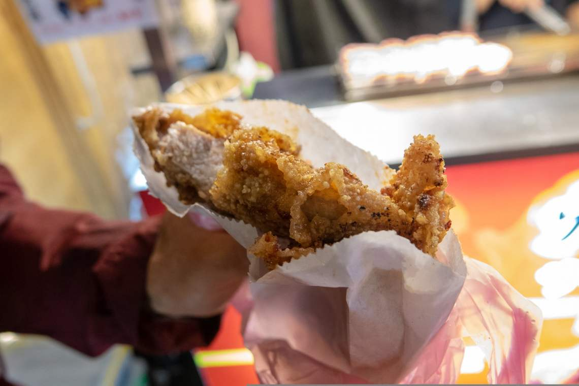 Slow carb diet FOMO - Taiwanese fried chicken from Angel Fried Chicken (天使鸡排)