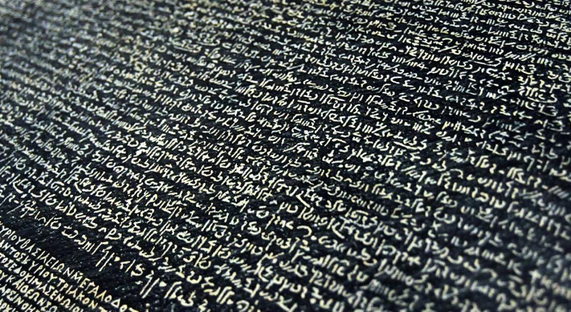 Rosetta Stone - How to Learn to Write Every Language