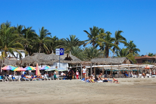 Stone Island Beach, Mazatland, MX