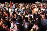 Mamita's beach is also home to the annual international jazz festival in November. This a look at the crowd.