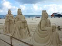 3 wiseman at the beach
