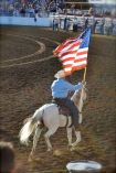 St.Paul Rodeo American Flag